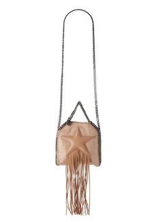 Stella McCartney Falabella Embossed Faux Suede Shoulder Bag
