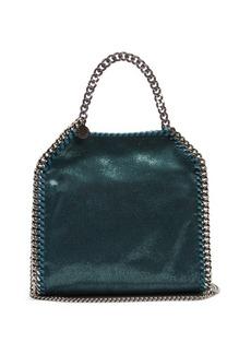 Stella McCartney Falabella faux-suede mini cross-body bag