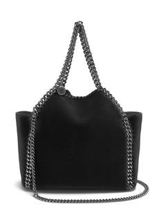 Stella McCartney Falabella mini velvet reversible cross-body bag
