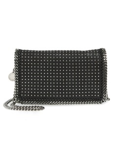 Stella McCartney 'Falabella' Studded Faux Leather Crossbody Bag