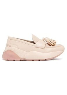 Stella McCartney Faux-leather flatform loafers