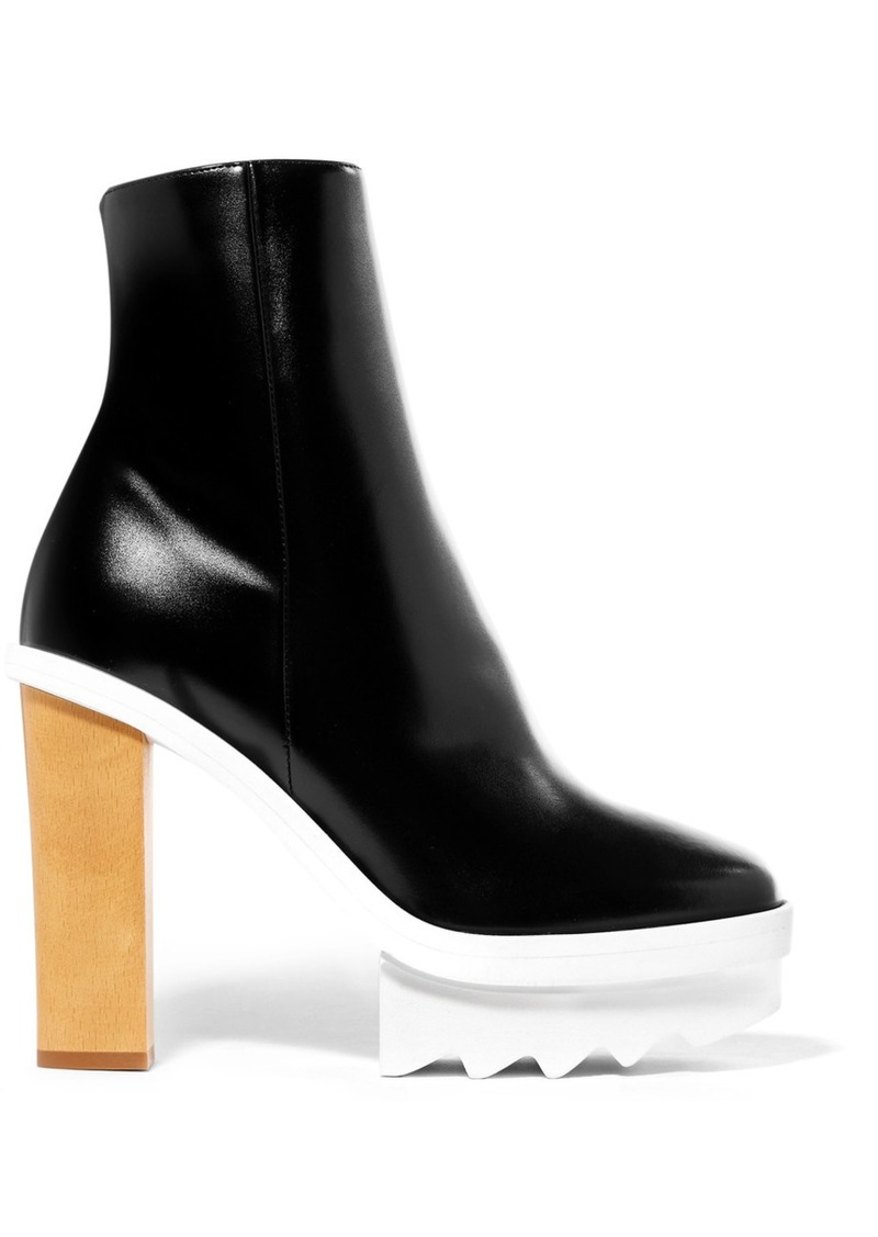 affordable cheap price Faux Leather Platform Ankle Boots cheap collections fast delivery online free shipping best seller cheap sale low price fee shipping Pemx2C