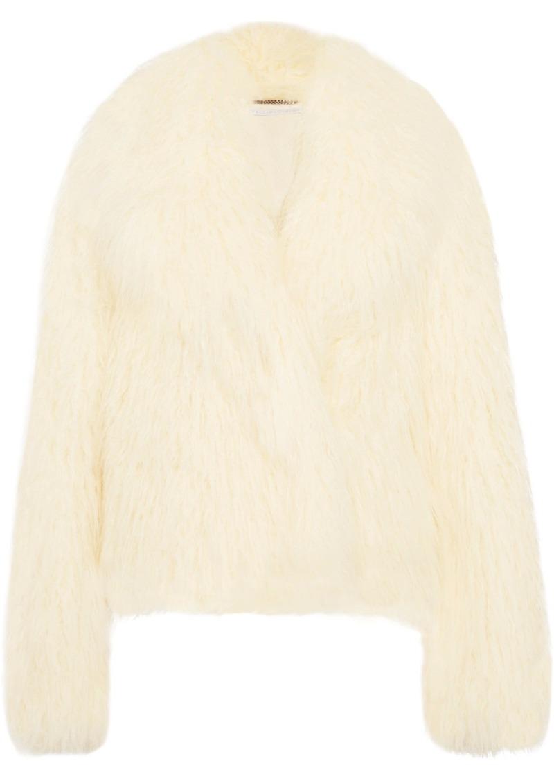 Stella McCartney Faux Shearling Coat