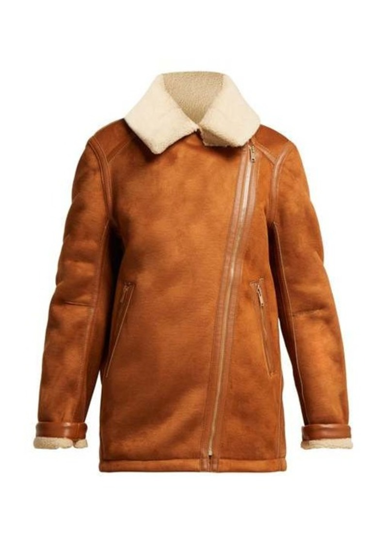 Stella McCartney Faux-shearling jacket