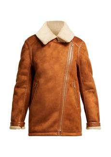 Stella McCartney Faux-shearling jacket
