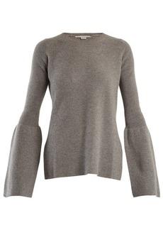 Stella McCartney Flare-sleeved wool sweater