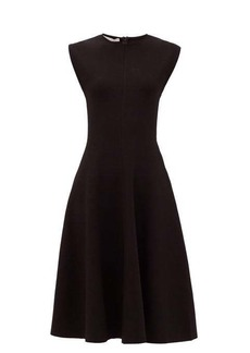 Stella McCartney Flared stretch-jersey dress