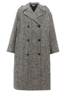Stella McCartney Flecked wool double-breasted coat