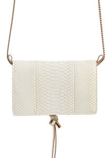 Stella McCartney Flo Alter Snake Faux Leather Crossbody Bag