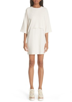 Stella McCartney Fringe Back Drape Dress