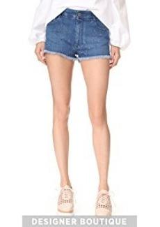 Stella McCartney Fringed Cutoff Shorts