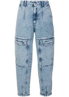 Stella McCartney front zipped jeans - Blue