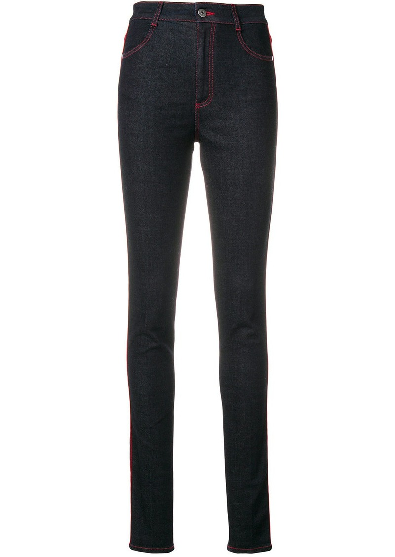Stella McCartney high rise skinny jeans