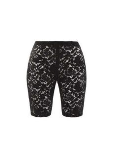 Stella McCartney Isla floral-lace shorts