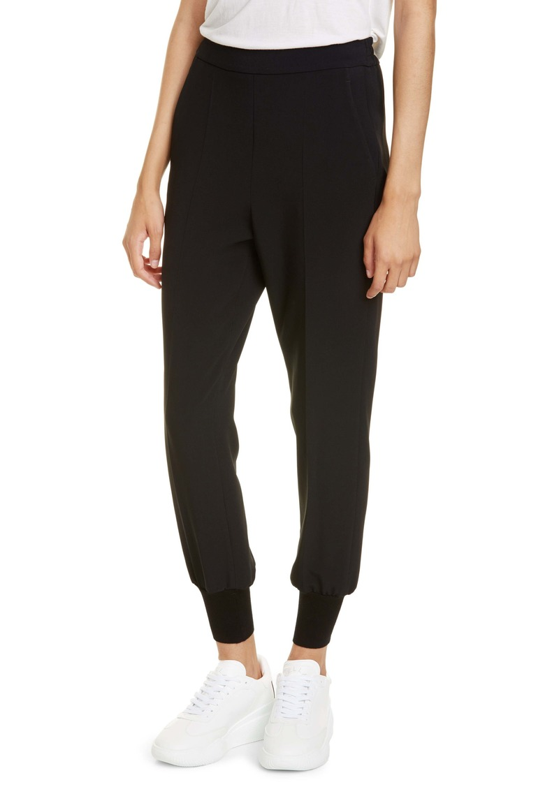 Stella McCartney Julia Stretch Cady Jogger Pants