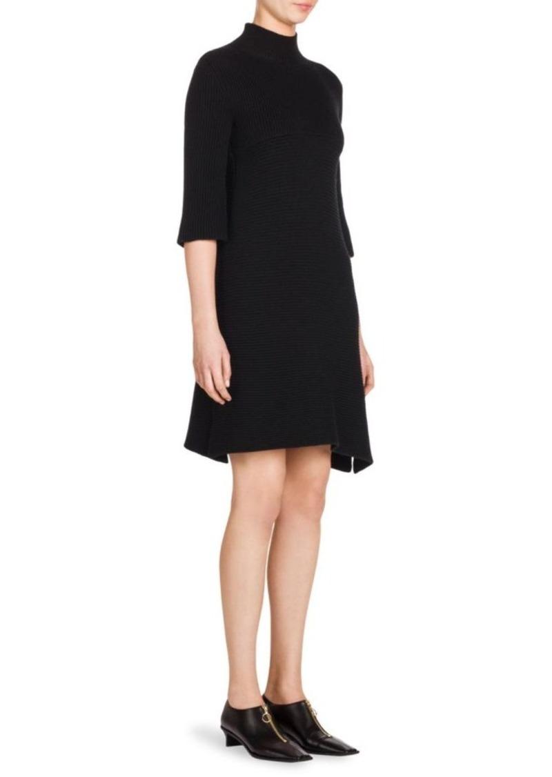 99e8a5069b6 Stella McCartney Rib-Knit Wool Sweater Dress