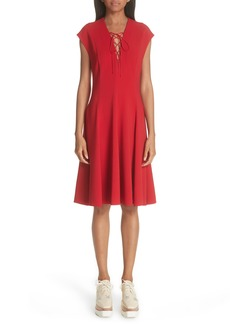 Stella McCartney Lace-Up Dress