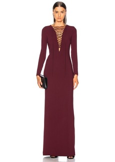 Stella McCartney Lace Up Maxi Dress