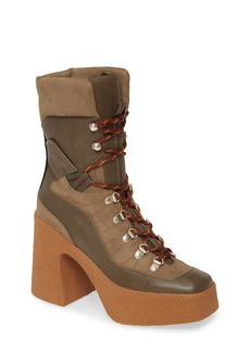 Stella McCartney Lace-Up Platform Bootie (Women)