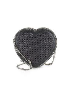 Stella McCartney Leather Heart Clutch