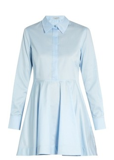 Stella McCartney Leile point-collar cotton shirtdress