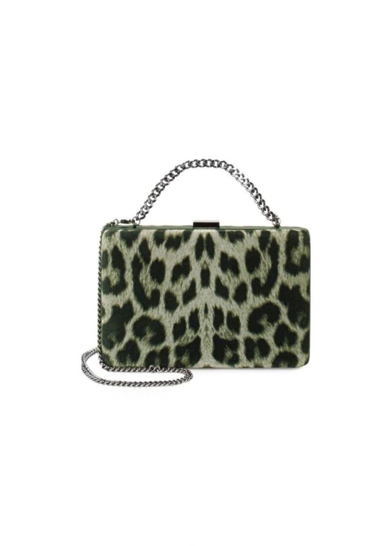 Stella McCartney Leopard-Print Clutch  5e27318cfc5de