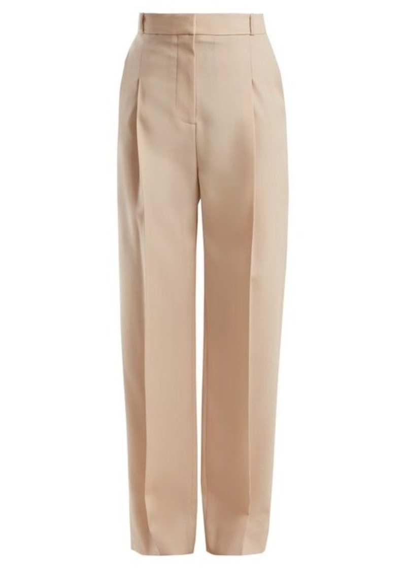 Stella McCartney Lindsey wool-blend trousers