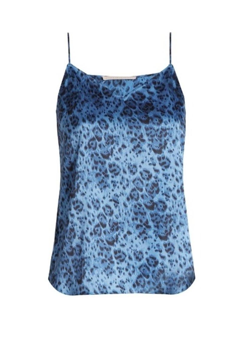 Lingerie Ellie Leaping leopard-print stretch-silk cami top. Stella McCartney 11933bafb