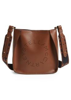 Stella McCartney Logo Alter Nappa Faux Leather Crossbody Bag