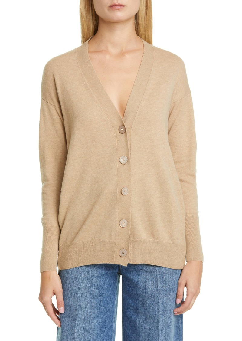 Stella McCartney Logo Band Wool Cardigan