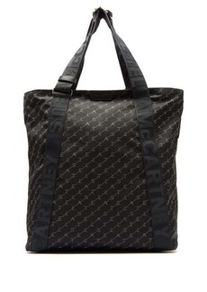 Stella McCartney Logo-print nylon tote bag