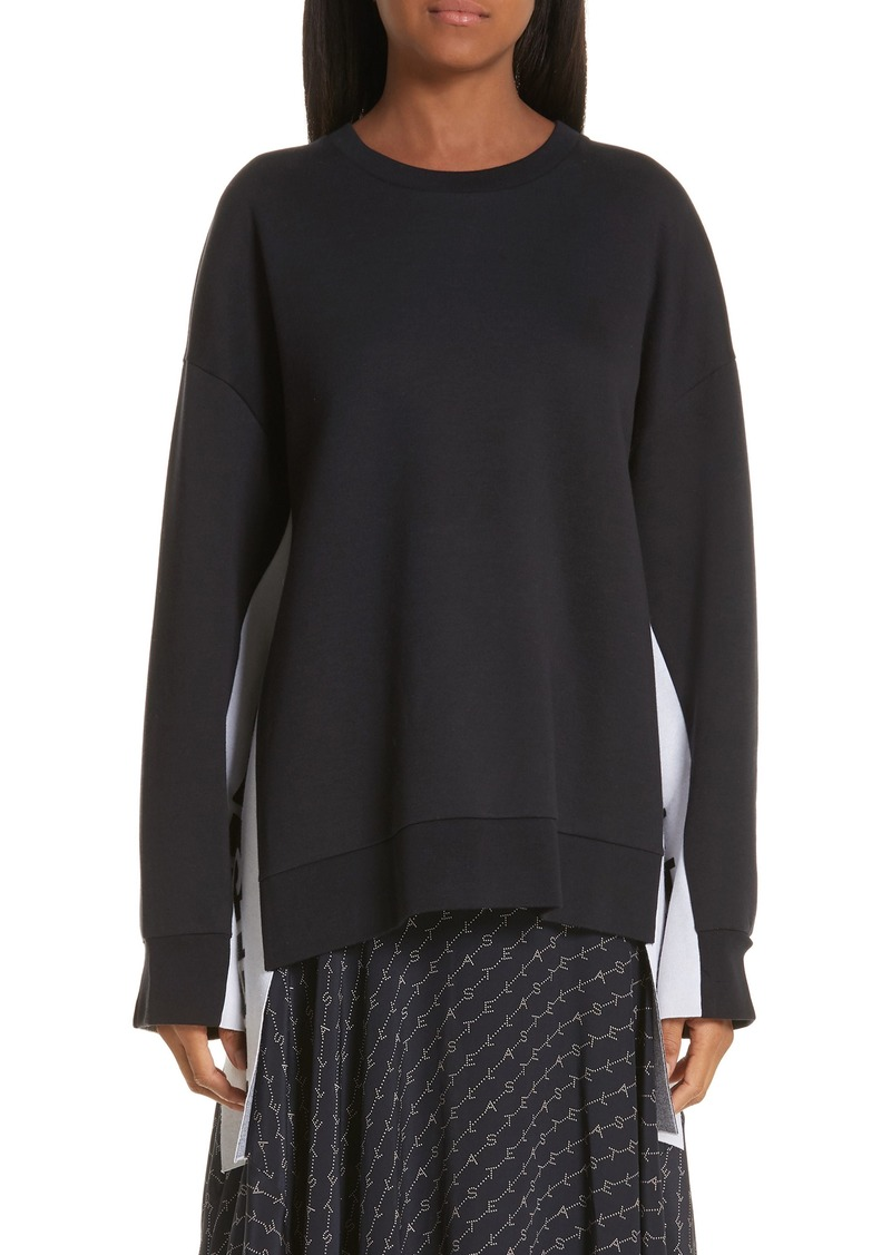 Stella McCartney Logo Stripe Sweater