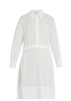 Stella McCartney Long-sleeved elasticated-waist cotton dress