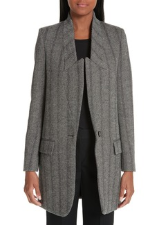 Stella McCartney Long Wool Blend Blazer