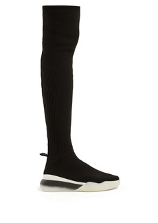 Stella McCartney Loop knee-high sock trainers