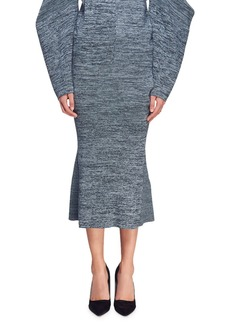 Stella McCartney Marled Yarn Pencil Skirt