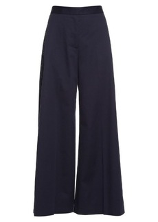 Stella McCartney Maude flared wide-leg trousers