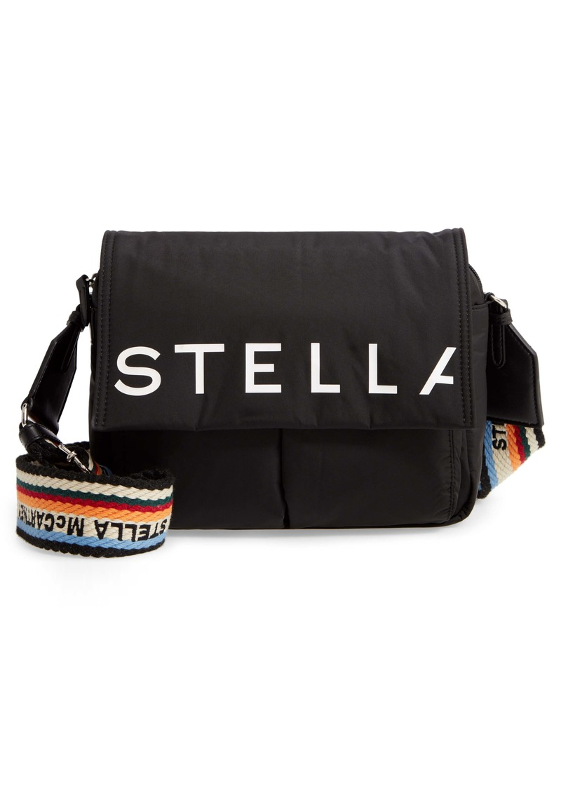 Stella McCartney Medium Padded Eco Nylon Shoulder Bag