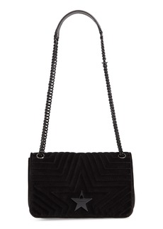 Stella McCartney Medium Velvet Star Shoulder Bag