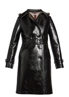 Stella McCartney Michaela double-breasted coated trench coat