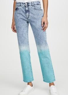 Stella McCartney Mid Rise Boyfriend Retro Stone Jeans