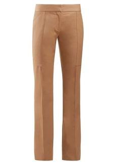 Stella McCartney Mid-rise slim-leg trousers