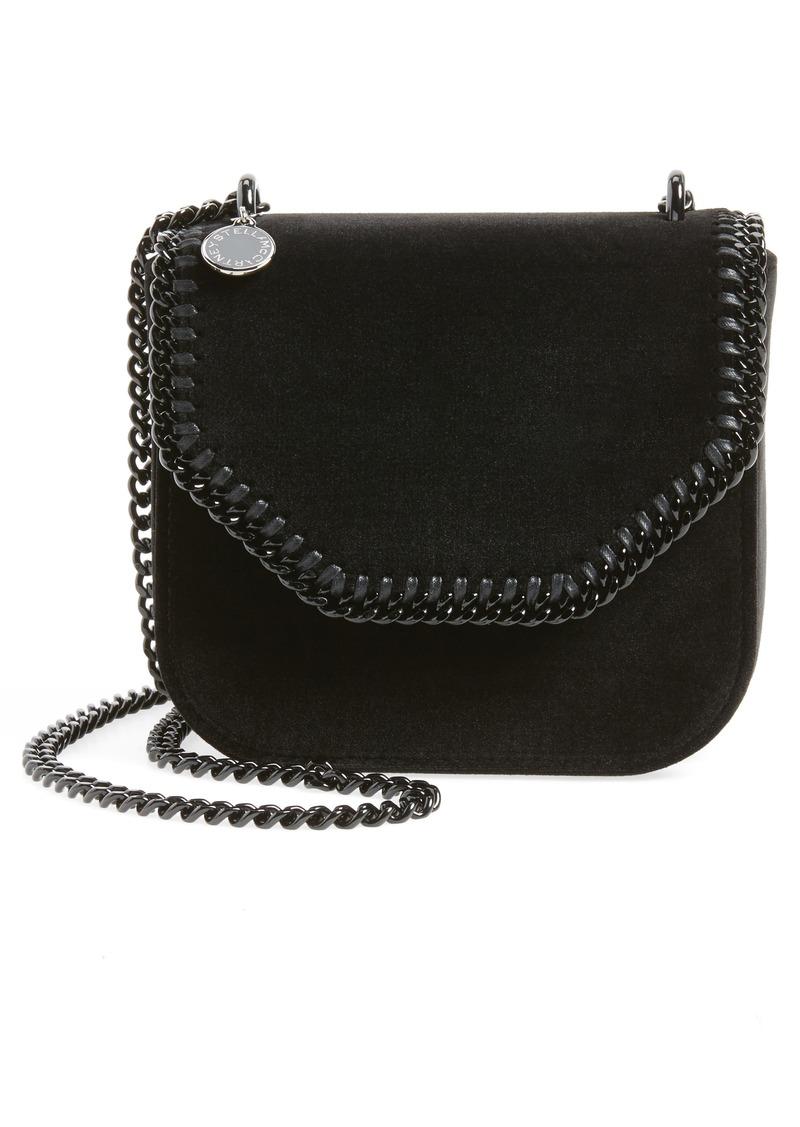 d9e4b8989e3a Stella McCartney Mini Falabella Box Velvet Shoulder Bag