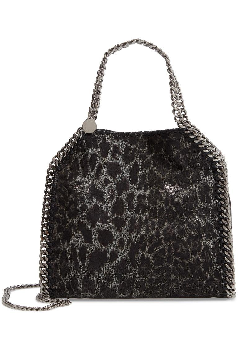 a62f0dbaa79a Stella McCartney Stella McCartney Mini Falabella Leopard Print Faux ...