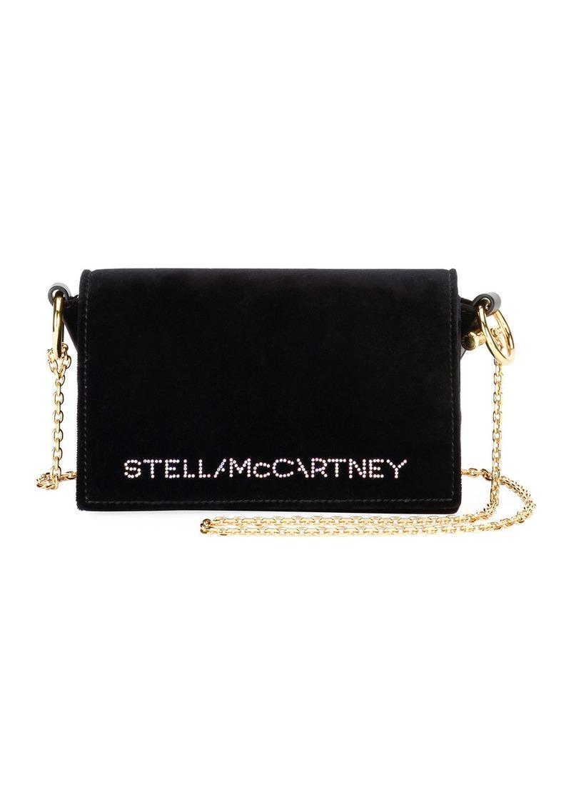 Stella McCartney Mini Flap Logo Shoulder Bag