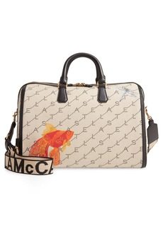 Stella McCartney Mini Monogram Canvas Duffle Bag