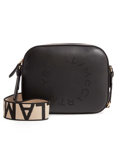 Stella McCartney Mini Perforated Logo Alter Nappa Faux Leather Camera Bag