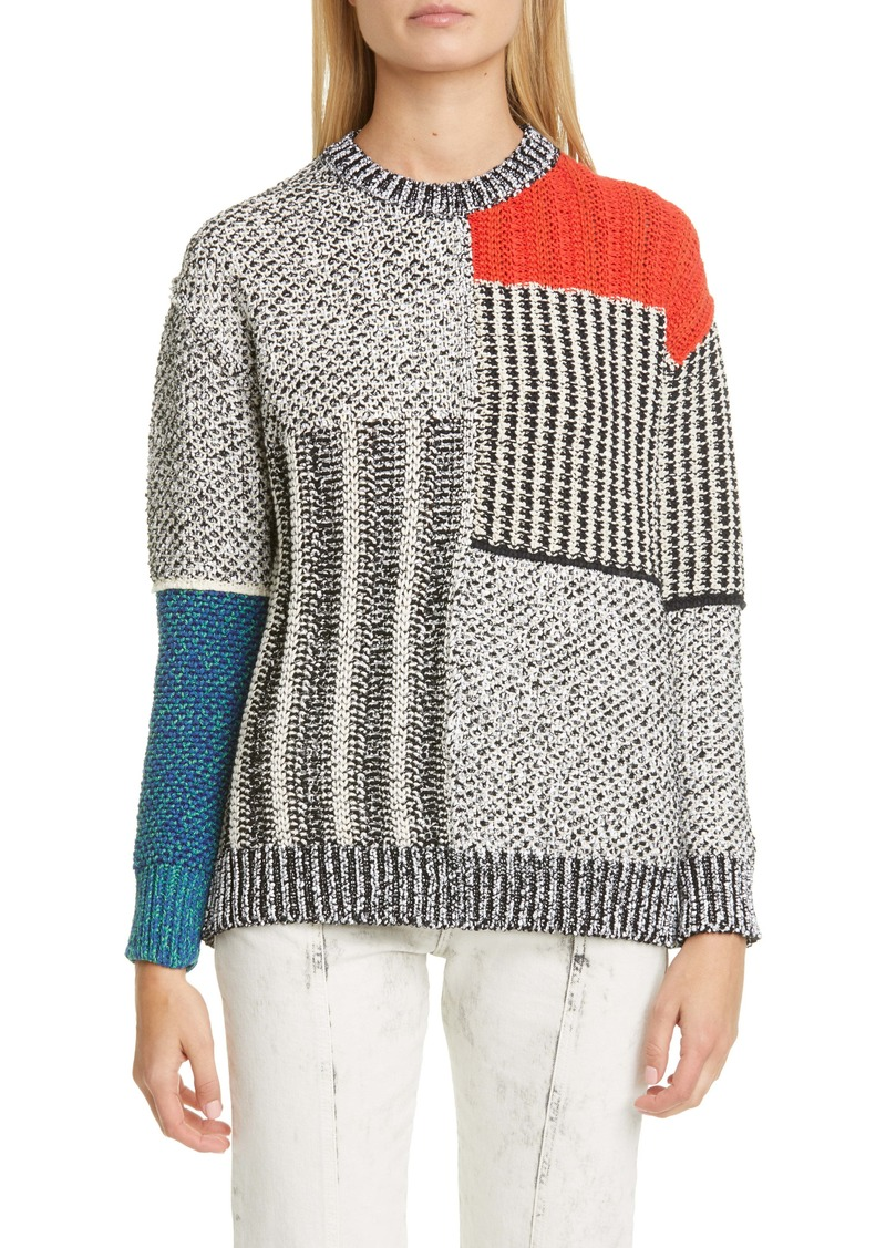 Stella McCartney Mixed Texture Sweater