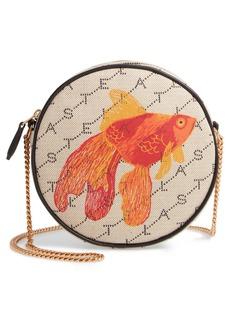 Stella McCartney Monogram Canvas Circle Crossbody Bag