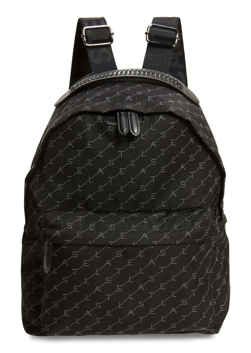 Stella McCartney Monogram Eco Nylon Backpack
